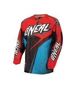 CAMISETA O´NEAL FLOW BLUE/RED