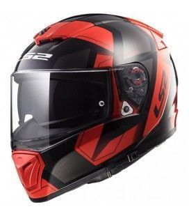 CASCO LS2 FF390 FHYSICS BLACK RED