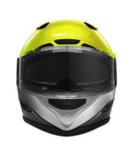 CASCO MOMO DESIGN HORNET FLUOR/YELLOW
