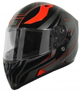 CASCO ORIGINE STRADA GRAVITER BLACKRED