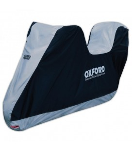 FUNDA MOTO OXFORD AQUATEX CON TOPBOX