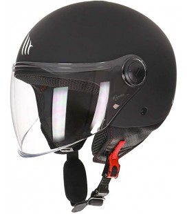 CASCO MT STREET SOLID NEGRO MATE