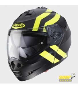 CASCO CABERG DUKE 2 SUPERLEGEND FLUOR-NEGRO