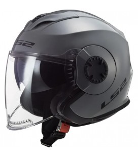 CASCO LS2 OF570 VERSO SOLID NARDO GREY